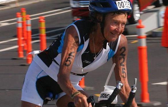 Inspiration from Senior Ironman Athletes and Sister MadonnaBuder