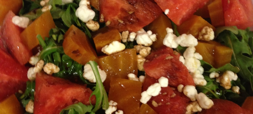 Beet and WatermelonSalad