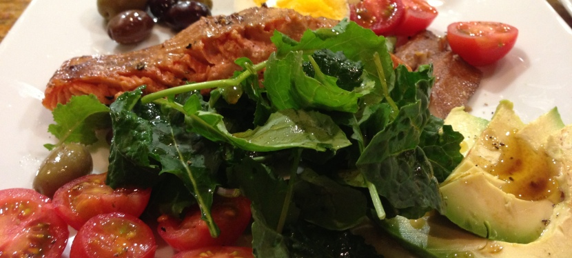 Salmon Nicoise Salad forTwo