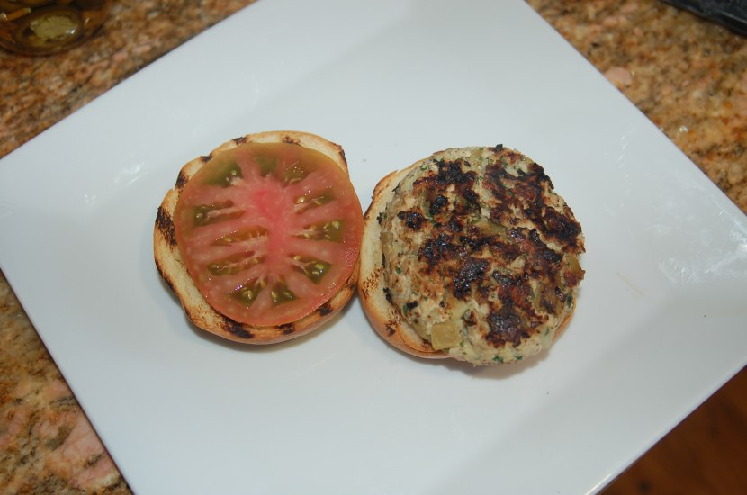 Green Chili Turkey Burgers