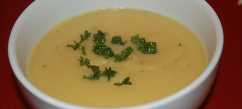 Healthy Potato Leek Soup