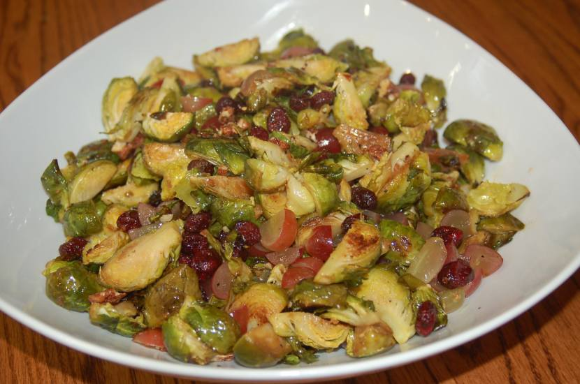 Roasted Brussels SproutsSalad