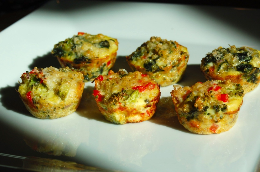Vegetable Quinoa Egg Bites