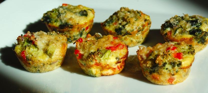 Vegetable Quinoa EggBites